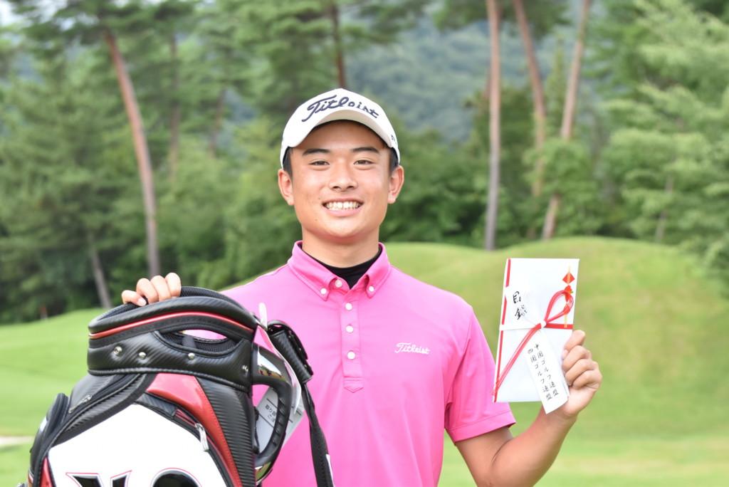 2020 広島 ゴルフ 県 オープン 男子はライザップ所属の釜須が優勝 女子は研修生の原が初制覇